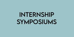 Internship Symposiums